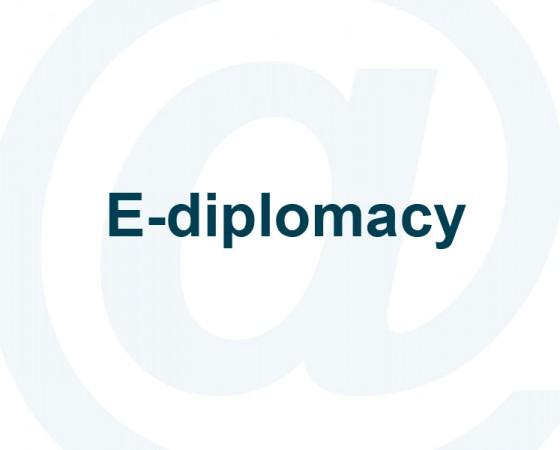 E-diplomacy